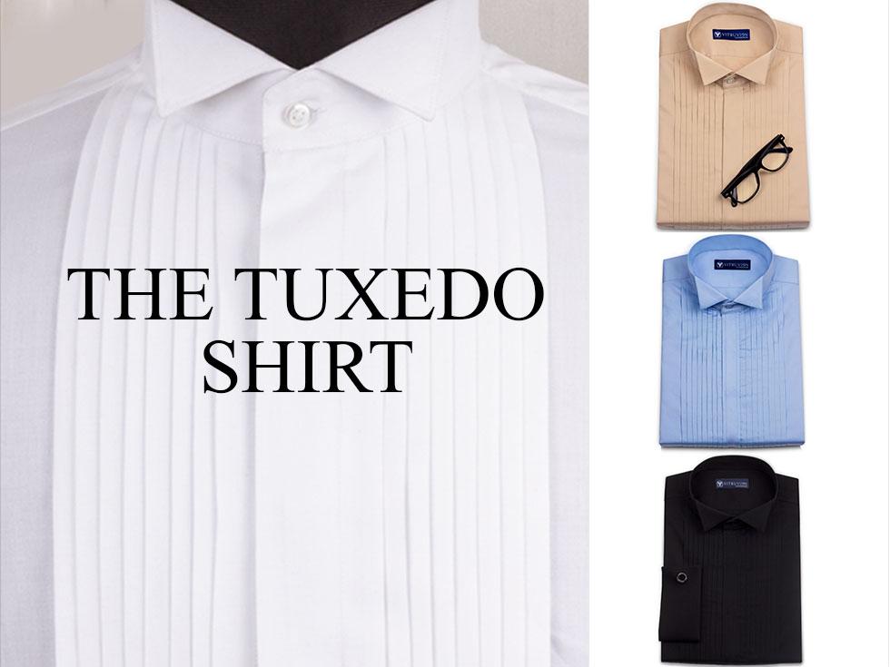 tuxedo custom shirts