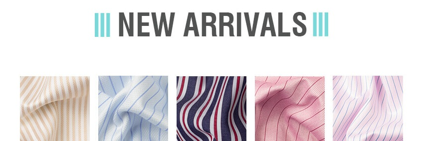 Bespoke Stripe Shirts for Mens