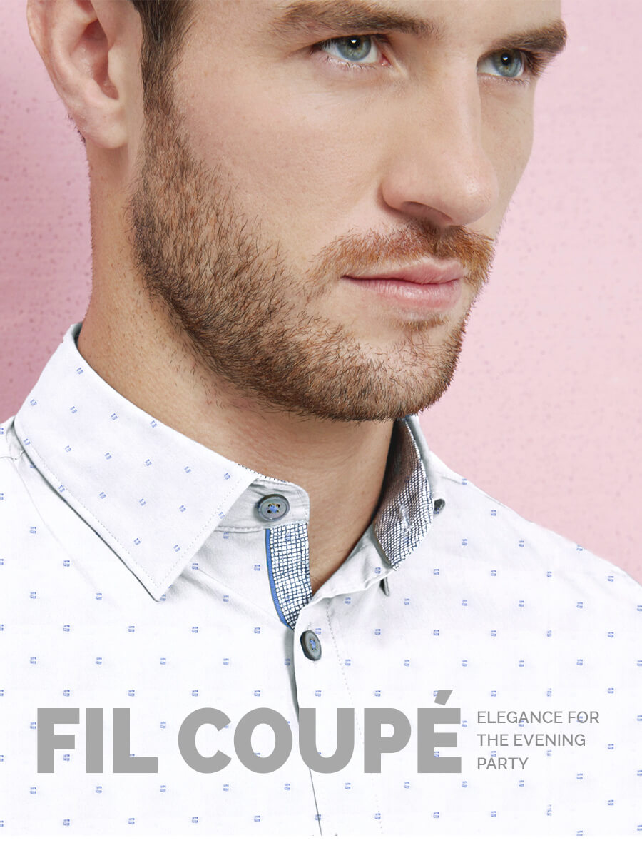 White Custom Shirt for Men