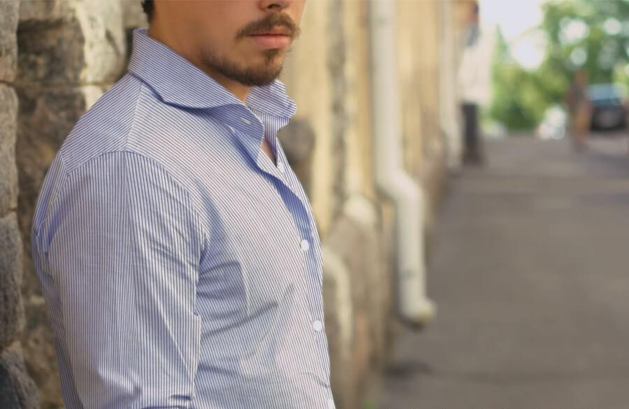 mens stripe shirts