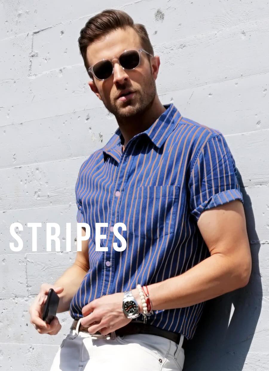 Buy Stripe Custom Shirts