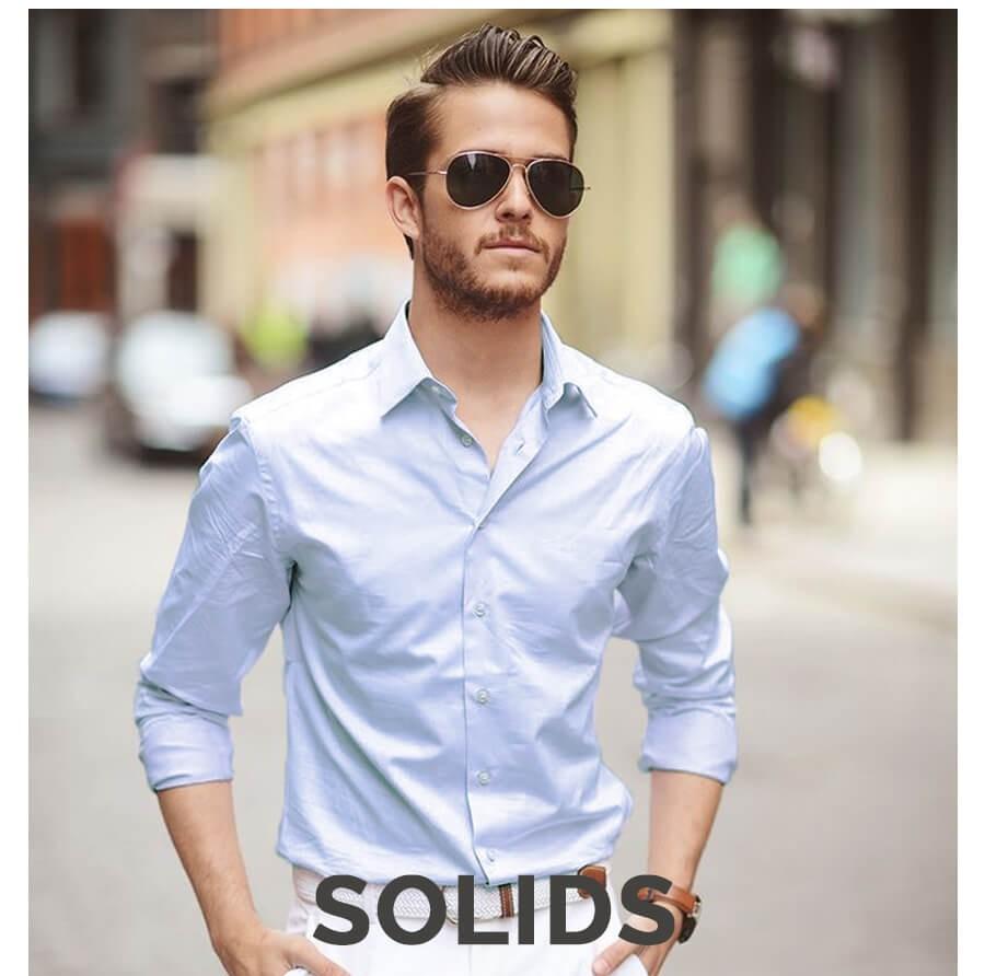 Men's Solid Shirt