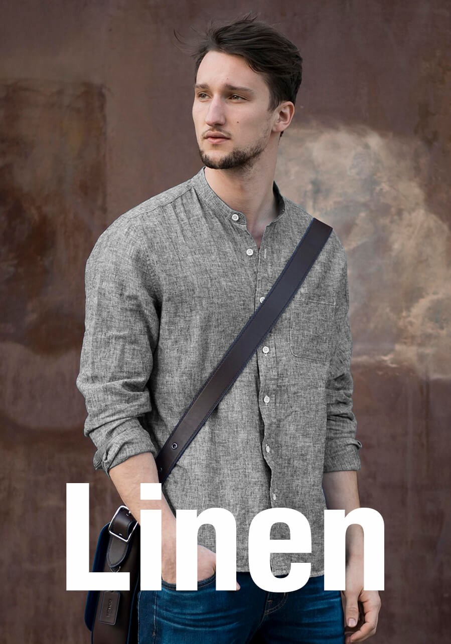 custom linen shirts for mens