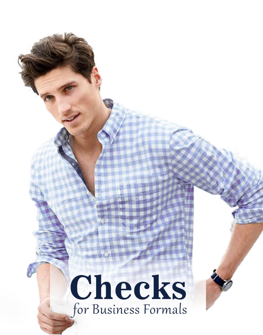 mens checks shirts