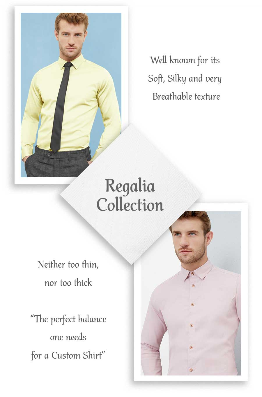 regalia collection mens shirts