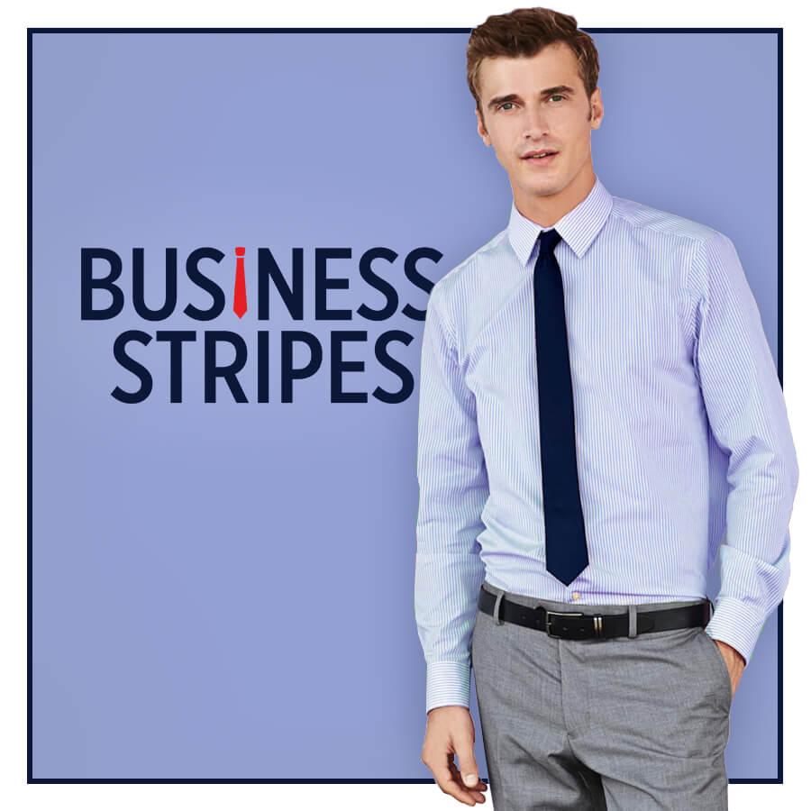 Stripe Custom Shirt for Men