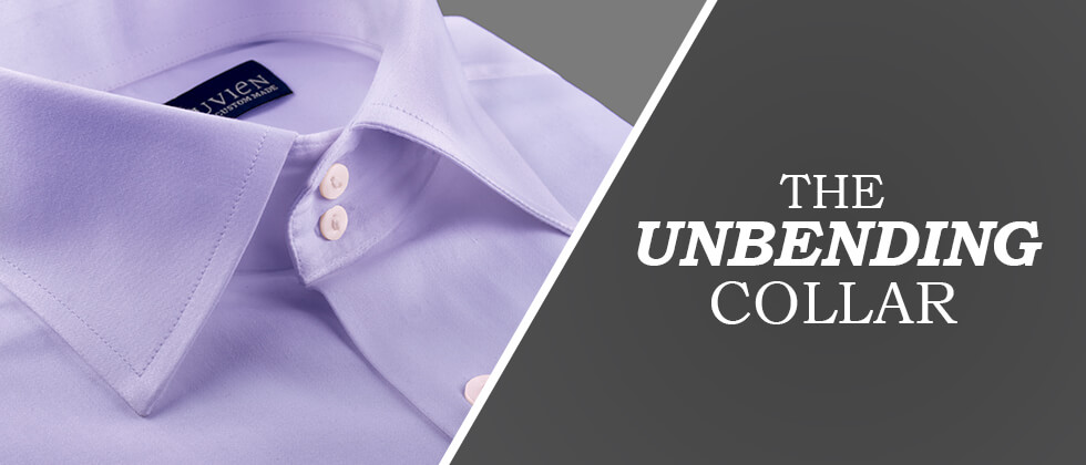 Unbending Collar for Custom Shirt
