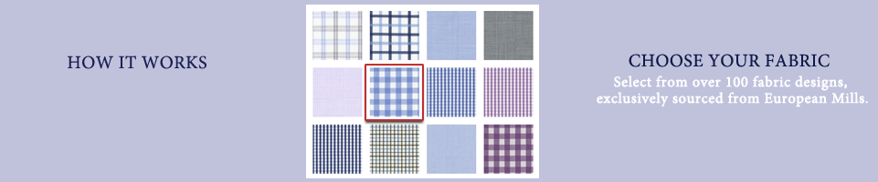 Select Shirt Fabric for Tailoring