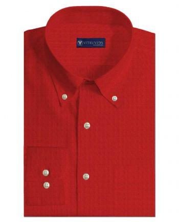 Rosso Corso Men's Custom Shirt